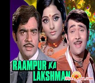 Poster of Raampur Ka Lakshman (1972) - (Hindi Film)